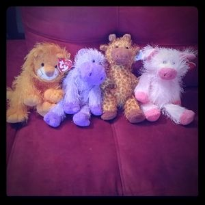 Other - Set of fourTy Punki Babies Giraffe Lion Pig Hippo